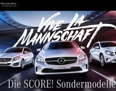 Mercedes Benz score